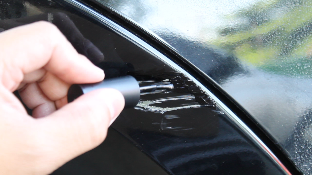 Fixing Paint Scratches with Nail Polish – ECOSPORT DIY SERIES
