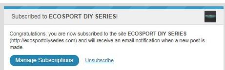 subscribe wordpress