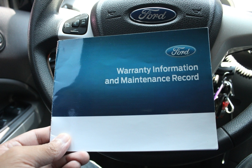 Warranty Booklet Ford
