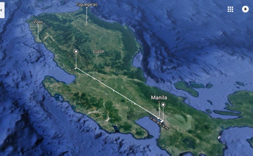 210 km manila baguio 2