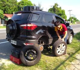 Flat Tire Zambales